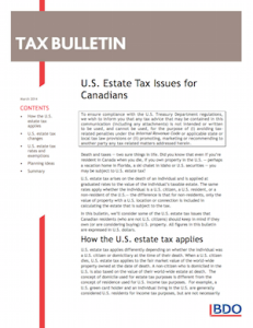 us-estate-tax-for-Canadisn-BDO-Mar2014-covercap